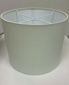 Pottery Barn Teen Solid Drum Shade White