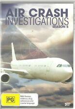 Air Crash Investigations Season 5 DVD 3 Disk Set Unsealed
