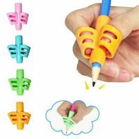 Novelty 2/3-finger Grip Silicone Kid Pen Pencil Holder Help Learn Writing Tool