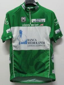 MAGLIA SHIRT JERSEY MAILLOT CAMISA TRIKOT CICLISMO CYCLING VERDE GIRO ITALIA XXL