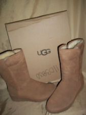UGG Aust. AMIE  Sheepskin Boots Womens size 8  1013428  chestnut brown Tall