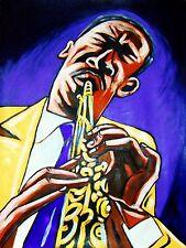ROSCOE MITCHELL PRINT poster art ensemble chicago free jazz sax old quartet lp