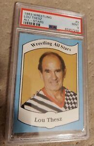 1983 Wrestling All Stars #9 LOU THESZ PSA 9 MINT LEGEND NWA CHAMP