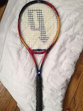 Prince React Titanium Tennis Racquet Long Body