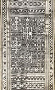 Vintage Style Geometric Oushak Oriental Area Rug Hand-knotted Wool 6x9 Carpet