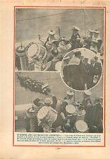 contre-torpilleurs Classe Bison Sous-Marins Prométhée Marine 1932 ILLUSTRATION
