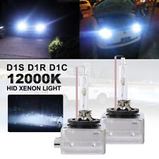 2X 12000K Blue 55W D1C D1S D1R Hid Xenon Headlight Bulbs Kits Replacement Lights