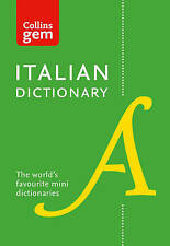 Collins Italian Dictionary Gem Edition: 40,000 words and phrases in a mini...