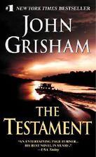 The Testament - John Grisham PB VGC (postage discount apply combine & save)