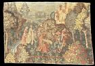 Large Rare Antique French Aubusson Style Wall Tapestry 223 x 158 cm 7'3 x 5'2 ft