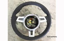 Porsche Alcantara Manual Steering Wheel - 997.2 987.2 Boxster Cayman 981 991 911