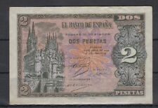 EDIFIL D30A.   2 PTAS 3 DE ABRIL DE 1938    SERIE N