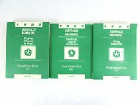 1989 Chrysler OEM Service Manual Set 3 Engine Chassis Body Electric Fuel Wiring