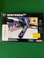RARE Nintendo 64 1080 Snowboard Panier PAL Game boite Complete