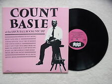 "LP COUNT BASIE ""At The Savoy Ballroom NYC 1937"" INDIGO IND 9608 FRANCE §"
