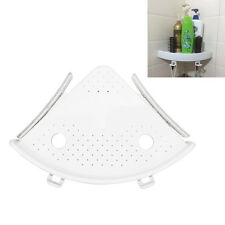 Bathroom Wall Mounted Plastic Triangle Shower Cassy Storage Rack Cosmetic Holder