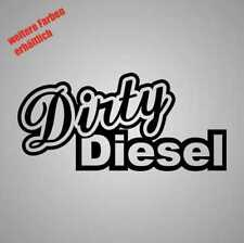 "Aufkleber "" dirty diesel "" Sticker Decal Folie Tuning"