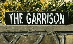 Peaky Blinders Sign The Garrison TV Series Large Wooden Vintage Sign Gift Idea