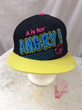 SnapBack trucker hat baseball cap Vintage Angry Bird A Is For Angry