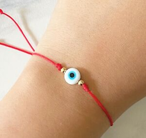 Evil eye bracelet protection red string bracelet mal de ojo third eye ojo turco