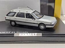 Renault 21 1989 Phase 2 Nevada (Savanna) Estate Silver 1/43 NOREV Rare