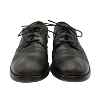 Fiorentini and Baker Mens Captoe Oxford Leather Shoes Brown Black EU 41 US 8