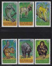 Ivory Coast 1979 World Wildlife set Sc# 528-33 NHl