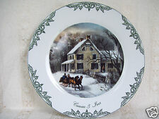 """Thomas Currier & Ives 7.5"""" Plate Collection 2000 Museum of the City of NY New"""