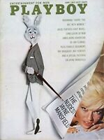PLAYBOY JUNE 1963 Connie Mason Jayne Mansfield The Nudest Jayne Mansfield RCVR1