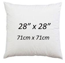 "28"" x 28"" Cushion Pad Hollowfibre Non Allergic Cushion Inner 28 Inch - Pack of 4"