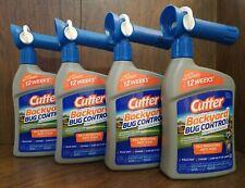 Cutter Backyard Bug Control Spray Concentrate 4-Pack Hg-61067 32 fl oz