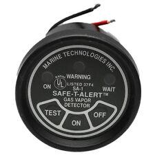 LIVORSI MARINE TECHNOLOGIES SAFE-T-ALERT BLACK BOAT GAS VAPOR DETECTOR GAUGE