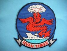 US NAVY RVAH-3 SEA DRAGONS Patch Sticker