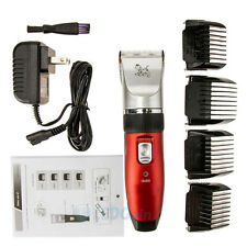 Pet Dog Cat Grooming Trimmer Animal Hair Professional Cordless Electric Clipper