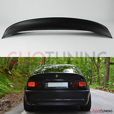 BMW E46 COUPE CSL STYLE WING / SPOILER (2door rear trunk lip for drift/stance)