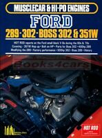 FORD V8 SMALL BLOCK 289 302 351 ENGINE BOOK HOT ROD