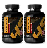 Testosterone booster healthy body - KOREAN GINSENG 350MG 2B - red maca bulk