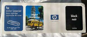 HP Black Toner C4191A, OEM 4500 & 4550 Cartridge NEW SEALED