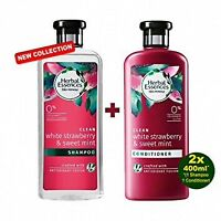 Herbal Essences Bio: Renew White Strawberry and Mint Conditioner