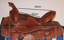 Kaltblut Westernsattel  für  breite Pferde Haflinger Tinker Shire Friese