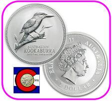 2003 Australia Kookaburra 1 oz. Silver Coin - BU direct from Perth Mint roll