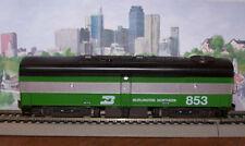 Model Power HO-Scale Train Engine Burlington Northern Alco B-Unit Dummy Loco NIB