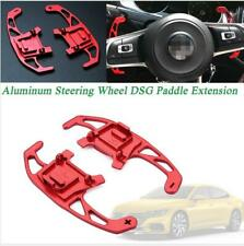 Red Aluminum Steering Wheel DSG Paddle Extension for VW Golf Jetta GLI GTI R MK7