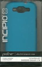 Incipio Feather Ultra Thin Snap-On Case for Samsung Galaxy S III (Neon Blue)
