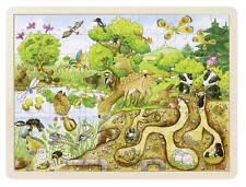 Einlegepuzzle Erlebnis Natur Holzpuzzle Kinderpuzzle Puzzle Tierpuzzle 96 tlg