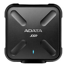 Adata SD700 Durable 512GB Portable External SSD USB 3.1 Gen1 ASD700-512GU3-CBK