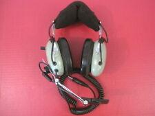 US Military David Clark Model H10-76 Noise Cancelling Aviation Radio Headset