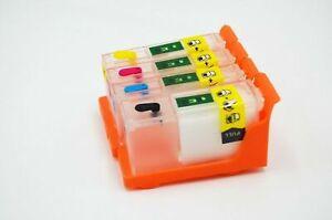 Empty Refillable Cartridges 4 Colors for Lexmark 100 XL S301 S305 S405 S505 S605