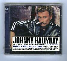 2 CD (NEUF) JOHNNY HALLYDAY A LA VIE A LA MORT