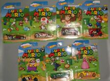 Lot of 7 -2017 HOT WHEELS SUPER MARIO BULLY GOAT YELLOW + More
